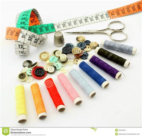 Materials For Upholstery Tailoring Wire Stock Photography Image 20316632