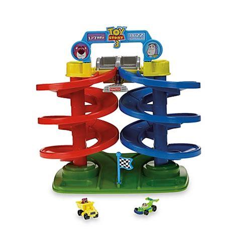 toy story 3 bathroom scene fisher price 174 disney pixar s toy story 3 spiral speedway bed bath beyond