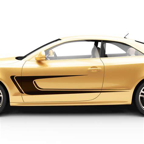 dekor aufkleber f rs auto autoaufkleber seitenstreifen auto seiten zier dekor