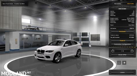 mod car game euro truck simulator 2 bmw x6 v 3 1 for 1 19 x mod for ets 2