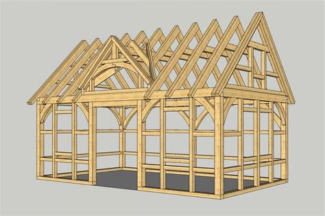 Shed Roof House our authentic post amp beam now available as a shed the