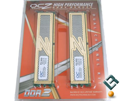 Gold Memory For Your Vista Pc by Ocz Pc2 8800 1100mhz Gold Edition Memory Review Page 3