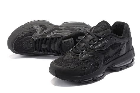 all black athletic shoes mens 2017 nike air max 96 mens running shoes outlet all black