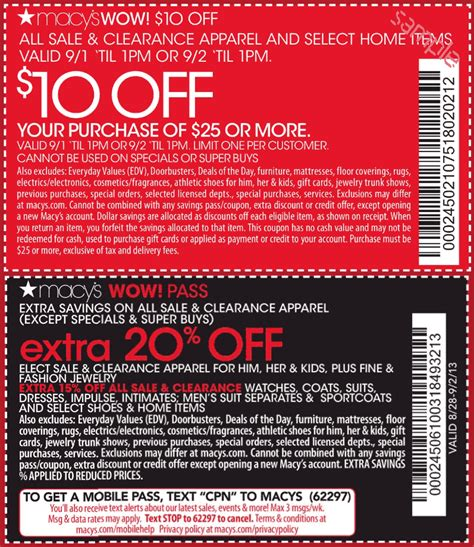 Home Goods Employee Discount by Macys Coupon 2016 Botanical Garden