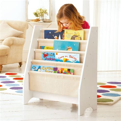 white sling bookcase for kids half price sling bookcase perfect for storing those