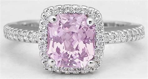 light pink sapphire ring light pink sapphire alternative and ring