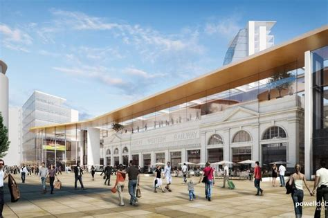 tattoo glasgow queen street new plans to transform cardiff central railway station