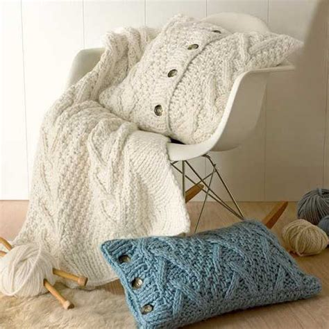 Design Ideas For Cable Knit Throw Pillow Fabulous Knit Throw Patterns Adding Warm Texture To Modern Room Decorating