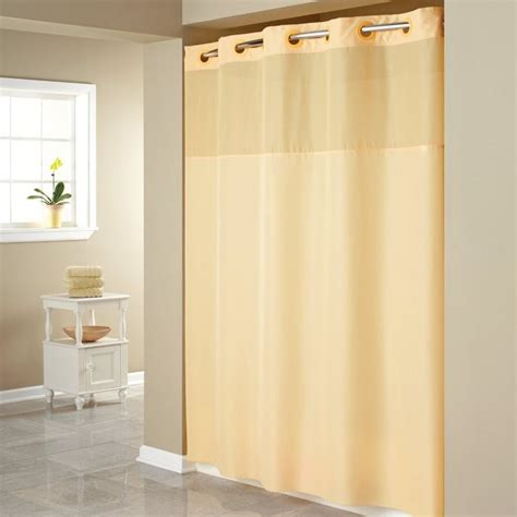 Surefit In X In Bright White Hookless Shower Curtain With Peva Liner Walmart Com