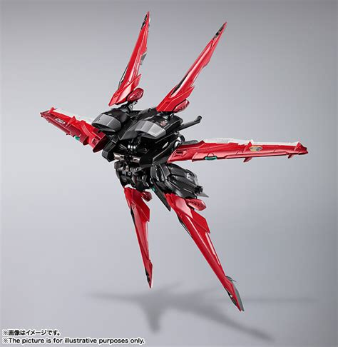 Metal Build Gundam Astray Frame Plus Flight Unit Bandai Built omocha house