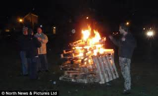 is it legal to have a bonfire in your backyard man arrested for lighting guy fawkes night bonfire on