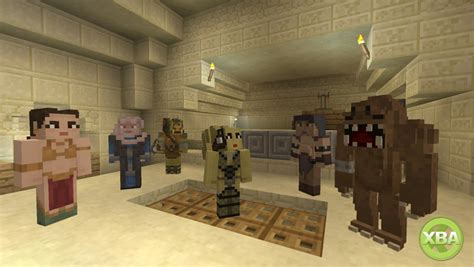 Lego Minecarft Xbox One Edition Steve M08 minecraft on xbox one and xbox 360 gets a wars skin