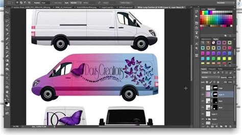 car wrap templates free how to make a commercial cargo car wrap mockup