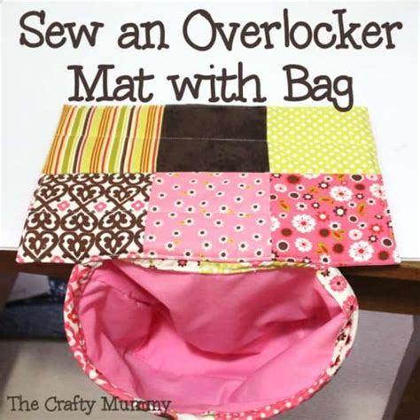 How To Sew A Mat Bag by Sewing Machine Organizer Pattern Free Mat Tutorial