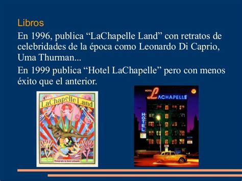 libro hotel lachapelle david lachapelle