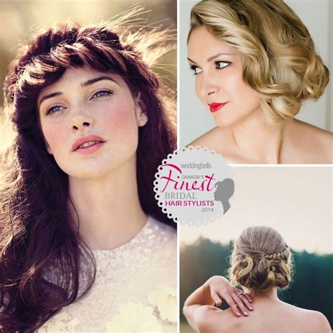 Wedding Hair Accessories Calgary by Canada S Finest Bridal Hair Stylists Of 2014 Weddingbells