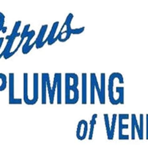 Plumbing Venice Fl by Citrus Plumbing Of Venice Encanadores 125 Corporation