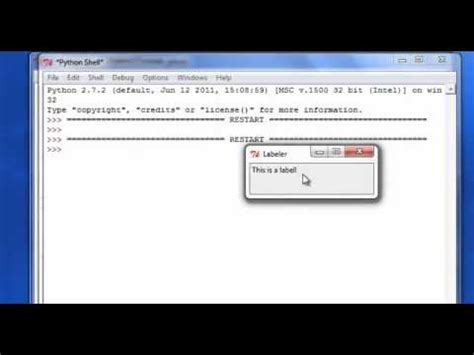 python tutorial queue basic python tutorial 35 creating buttons and labels for