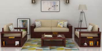 sofa sets in india wooden sofa sets buy solid wood sofa set upto 70