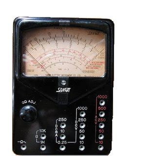 Multimeter Sunwa Analog sanwa p3 analog multimeter buy sanwa p3 analog multimeter at best prices from shopclues