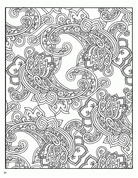 coloring book page designs complicated coloring pages for adults coloring home