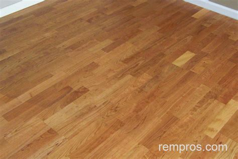 engineered click lock wood flooring installed