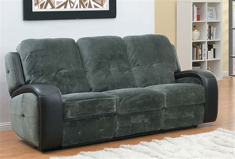 homelegance flatbush recliner sofa textured plush