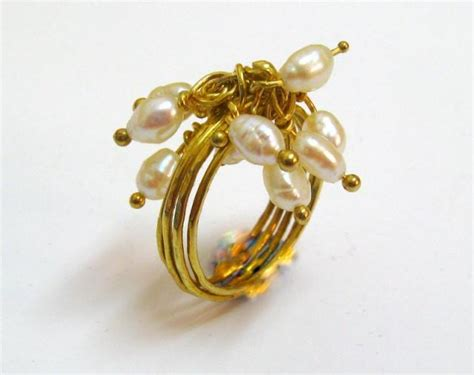 wedding jewelry jewelry freshwater pearl on 14k