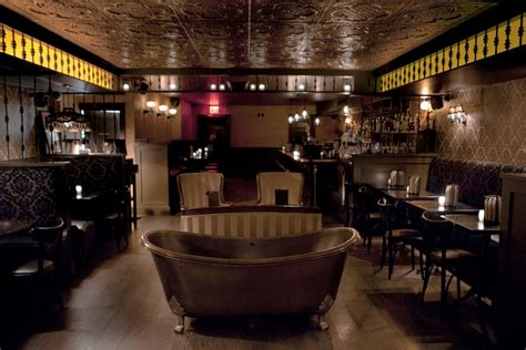 bathtub bar nyc bathtub gin a hidden speakeasy in the heart of new york