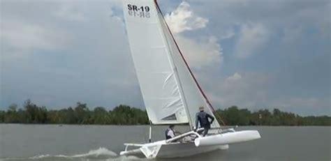 trimaran under sail searail 19 trimaran update small trimarans