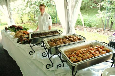 what is a buffet table decorative use of chafing dishes on a buffet table set up
