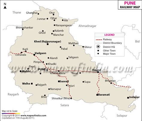 Pune Railway Map
