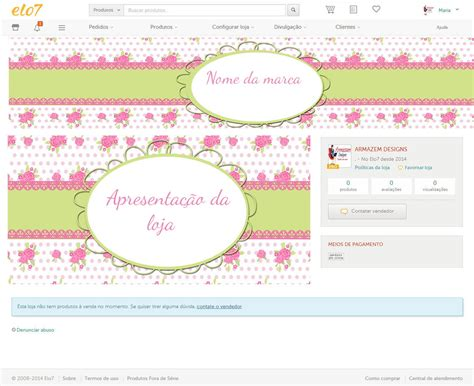 kit layout loja divitae 04 banner facebook loja de kit elo7 ferve 04 phabrica de designs elo7