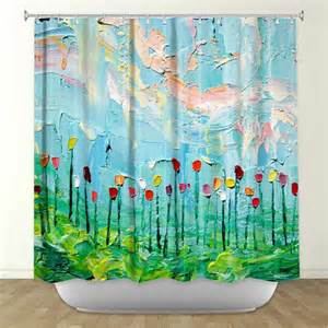 artistic shower curtains items similar to artistic shower curtains by dianoche