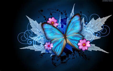 imagenes wallpapers mariposas abstracto de la mariposa y de las flores fondos de