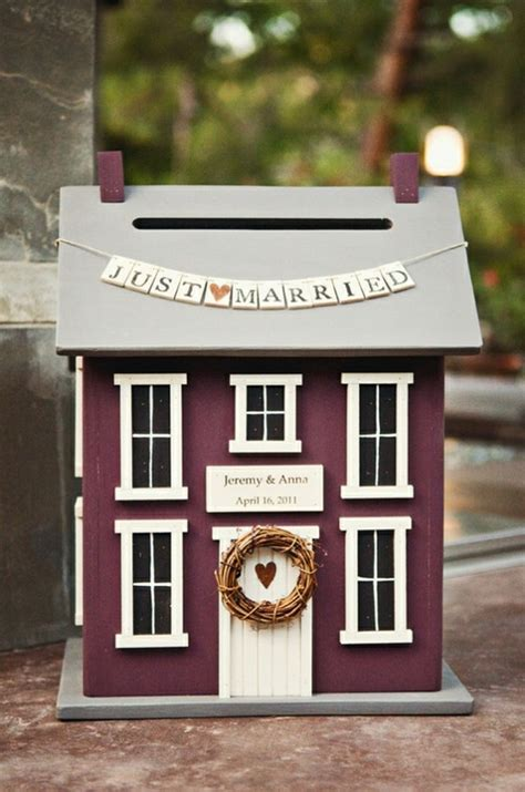 Wedding Card House by 18 Diy Wedding Card Boxes For Your Guests To Slip Your