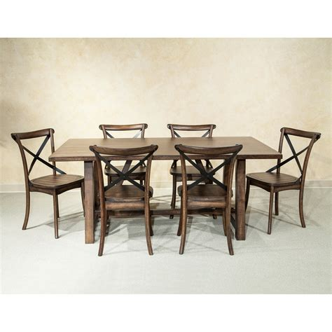 intercon lindsay  piece dining table  chair set