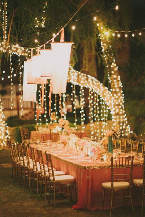 wedding lights romantic al fresco lighting 2037227