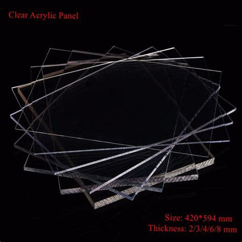 Acrylic Bening 8mm 2 8mm thickness 420x594mm acrylic sheet plastic panel alex nld
