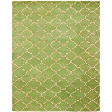 Green Area Rug 8x10 Tessa Rug 8x10 Green