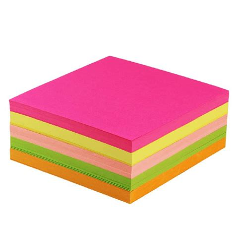 Colored Craft Paper - 13 x 13 cm neon colored diy craft paper folding paper