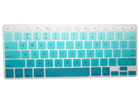 Keyboard Cover Skin For Macbook 17 With Mac Proair Gradient Color llamamia 3 silicone keyboard covers skins for