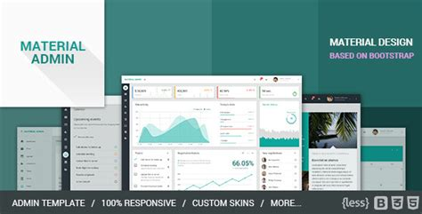 Material Admin Bootstrap Admin Html5 App By Codecovers Themeforest Bootstrap Material Design Admin Template