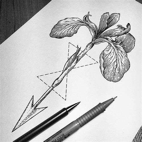 tattoo outline pen 687 best hipster tattoos images on pinterest tattoo