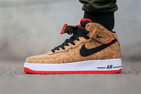 Nike Air 1 Infrared Cork nike air 1 mid cork infrared sneakers