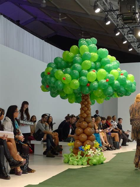 how to make a balloon tree the office chic as bubbly as balloons adrian wu