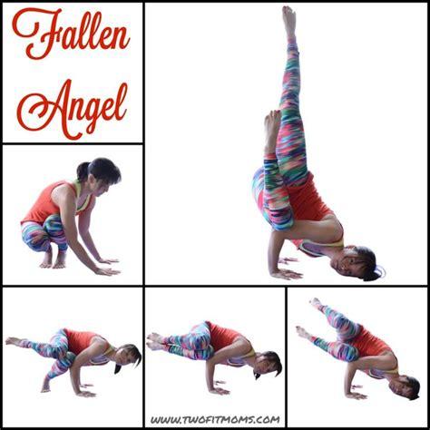 yoga tutorial advanced fallen angel tutorial surprisingly easy inversion arm