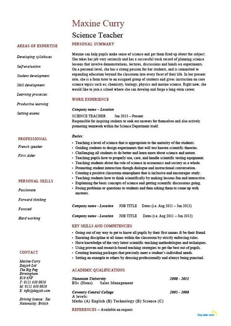 qualifications resume best letter sle