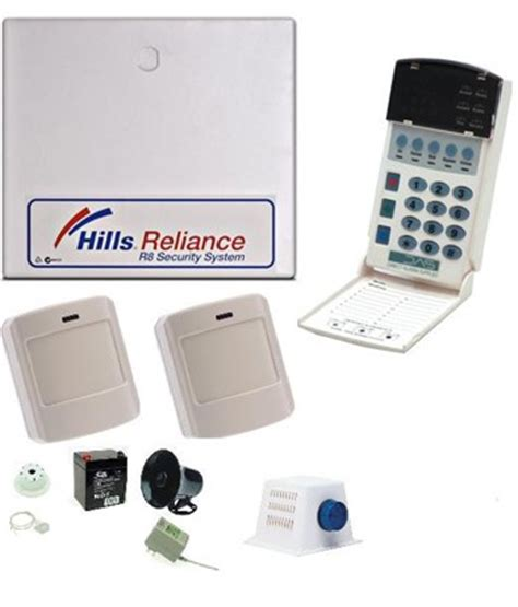 reliance 8 nx8 alarm kit inc wireless detectors