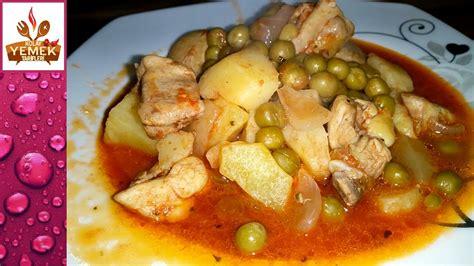 yemek tarifi kahvalti tarifleri 31 tavuklu bezelye yemeği tarifi sulu yemek tarifleri youtube